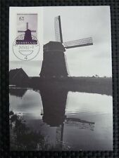NETHERLANDS MK 1963 WINDMILL MAXIMUMKARTE CARTE MAXIMUM CARD MC CM c3693