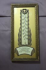 Vintage Paulding, Ohio Thermometer M.G. STOLLER & SONS EMPTY