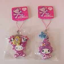 HELLO KITTY & MY MELODY x TOKIDOKI * Mirror Charm Phone Straps SANRIO