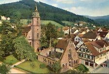 Alte Postkarte - Heilklimatischer Kurort Bad Herrenalb