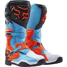 2016 Fox Racing Comp 8 Motocross MX ATV Offroad Men's Boots Aqua Size 10
