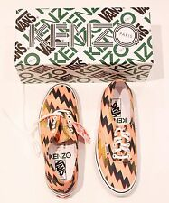 KENZO PARIS For VANS Lightning Bolt ZIG ZAG Print LIMITED EDITION Sneaker SHOES