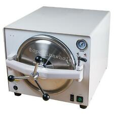 18L 900W Medical Autoclave Steam Sterilizer Dental Lab Sterilizer Equipment Tool