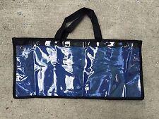"SPREADER BAR DREDGE BAG LURE FISHING OFFSHORE TACKLE STORAGE 19 ""x 9"" - BLUE"
