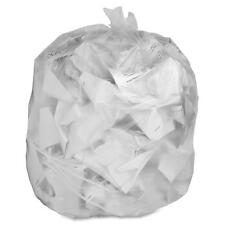 "Trash Can Liner, 30 Gallon, .6Mil, 30""x36"", 250/BX, Clear"