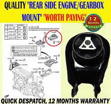 FOR FORD FOCUS 04-11 FOCUS CMAX C-MAX 2003-07 REAR ENGINE GEARBOX MOUNT MOUNTING