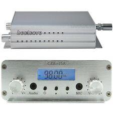 New CZE-15A 3W/15W 88MHz~108MHz FM Stereo PLL Radio Broadcast Transmitter B0233