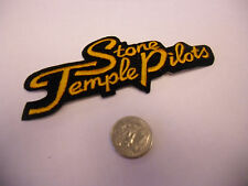 Stone Temple Pilots Logo IRON/SEW ON EMBROIDERED PATCH NEW scott weiland