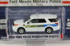 FORD INTERCEPTOR UTILITY US ARMY POLICE HOT PURSUIT 11 42680 1:64 GREENLIGHT