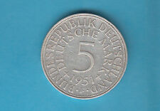 Germany 5 Marchi 1951 Silber Germania Argento BUNDERSREPUBLIK GRANDE OCCASIONE