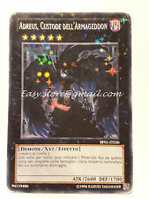 ADREUS CUSTODE DELL'ARMAGEDDON BP01-IT030  STARFOIL PLAYED (Angoli rovinati)