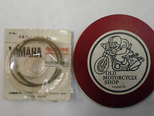 YAMAHA DT100/ RT100 PISTON RINGS  N.O.S. part # 3A3-11610-20.  2nd 0.50 O/S