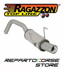 RAGAZZON TERMINALE SCARICO TONDO 80mm FIAT 500 312 1.3 MJET DPF 70kW 50.0215.98
