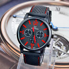 2015 Men Fashion Military Stainless Steel Sport Racing Quartz Analog Wrist Watch