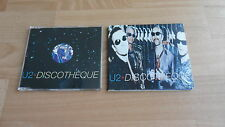 U2 - DISCOTHEQUE  (RARE DELETED 2 X CD SINGLE SET)