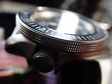 THE-ATLAS-ONE MK.II POLISHED MOD/CUSTOM BEZEL FOR SEIKO SKX007 7S26-020 DX-04-A