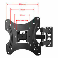 "Swivel✔Tilt✔Vesa✔TV Wall Bracket Mount for LCD LED Plasma Television 10 – 42"" UK"