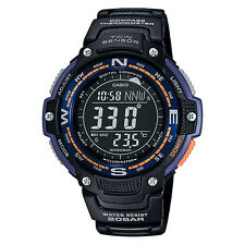 Casio SGW100-2B Twin Sensor Digital Compass / Thermometer Watch