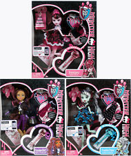 Monster High Sweet 1600 LOT OF 3! DRACULAURA CLAWDEEN WOLF FRANKIE STEIN doll