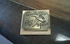 remington first in the field belt buckle