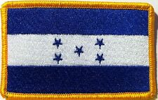 HONDURAS Flag Patch With VELCRO® Brand Fastener Military Emblem