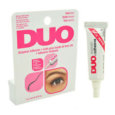 DUO Waterproof Striplash Adhesive Eyelash Glue 7g Dries Invisibly Dark tone