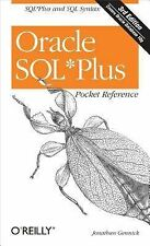 Oracle SQL*Plus Pocket Reference (Pocket Reference (OReilly)) [Paperback]