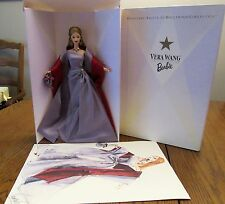 1998 VERA WANG Barbie by Mattel - Designers' Salute to Hollywood Collection-NIB