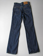 "Vintage Lee Riders Jeans Dark Wash Blue 26x30 Denim USA Boot Cut 25"" x 30"""