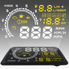 Auto HUD Head Up Display OBD 2 II Tachometer/Speedometer/Odometer/ Fault Alarm