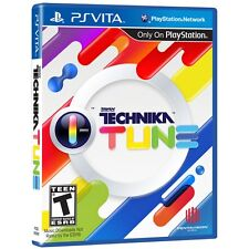DJ MAX Technika Tune [Sony PlayStation Vita PSV, NTSC, Music Rhythm] Brand NEW