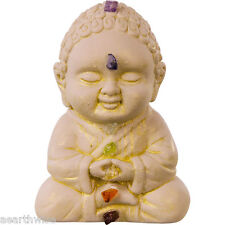 CHAKRA BUDDHA STATUE New Age Yoga Wicca Pagan Witch Goth HEALTH WELLNESS