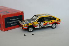 Top 43 Kit monté 1/43 - Renault 20 Paris Dakar 1982 Marreau