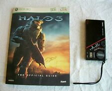 HALO 3 OFFICIAL GUIDE AND FREE CLOCK RADIO!