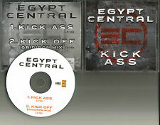 EGYPT CENTRAL Kick Ass w/RARE GRIDIRON MIX TST PRESS 2011 USA PROMO DJ CD single