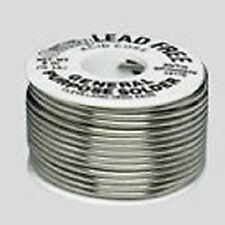 Oatey 53027 Lead Free Solid Wire Plumbing Solder 4oz. Repair Copper Pipes *