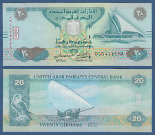 V. A. EMIRATE / EMIRATES 20 Dirhams 2015 UNC P.28 c
