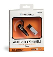 Plantronics Audio 920 MultiPoint Bluetooth VoIP wireless Headset with USB Dongle