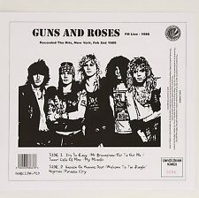 LP Guns n roses - fm live 1988 New & sealed