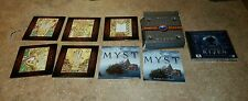 Ages of Myst Riven PC Video Games 6 Discs Boxed Set & Making of Riven (NICE)