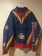 Vintage Lee Sports NBA Denver nuggets 3/4 Zip Jacket Size Large