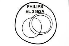 COURROIES SET PHILIPS EL3552A MAGNETOPHONE A BANDE EXTRA FORT NEUF EL 3552A