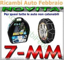 Catene da neve 7mm Lampa RX-7 215/45r17 Gr. 9 per auto NON catenabili catenabile