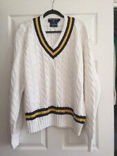 Polo Sport Ralph Lauren Cotton Hand Knit Tennis Sweater XL