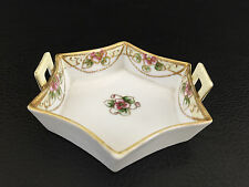 Antique vintage Nippon hand painted porcelain pin dish Morimura Bros. 1891-1929