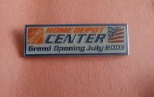 Home Depot Center Grand Opening July 2003  -   Advertising Lapel Pin
