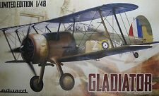"1/48 Limited Edition Gloster Gladiator  ""Gladiator"" Model Kit by Eduard"