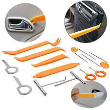 Car Door Plastic Interior Trim Panel Radio Audio Removal Pry Open Tools Kit 12