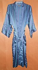 Christian Dior Monsieur Robe Sleepwear Thick Navy stripe One Size Blue Men's VTG