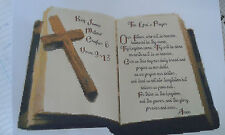 THE LORD'S PRAYER  IS A 14 COUNT CROSS STITCH KIT  WITH  DMC, ARIADNA THREADS